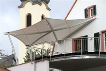 Balcony and Entrance Canopy