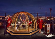 Virgin Igloo at Heathrow