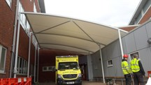 Ambulance Entrance Canopy