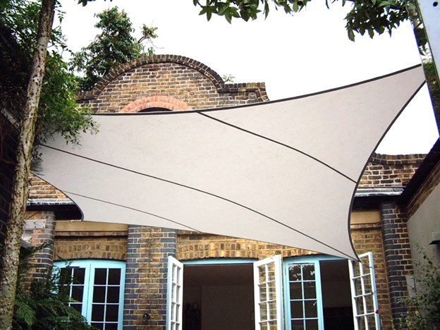 Courtyard Canopy, BBC Small Town Gardens