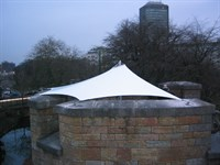 Protective Canopy, Cardiff Castle