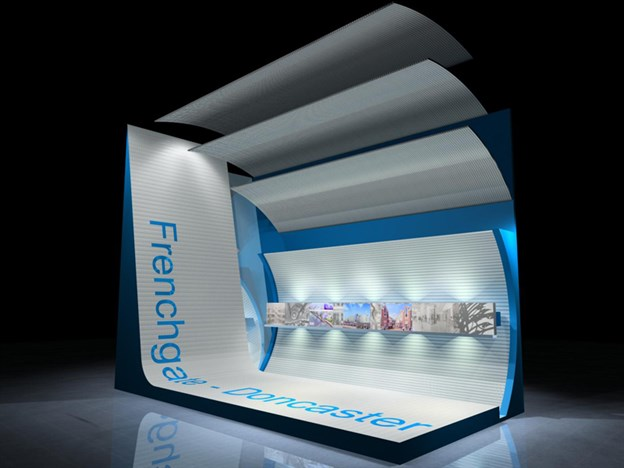 Lit Fabric Canopies, Frenchgate