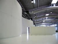 Acoustic Fabric Wall, Dyson Malmsbury