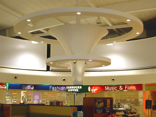 Example Canopy for a Retail Area