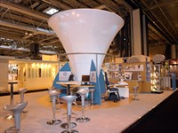 Fabric Cone, Essilor, Optrafair