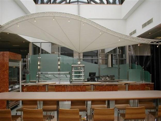 Restaurant Sun Screen Canopy Ceiling Canopy Nationwide