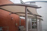 Entrance Canopy, Nottingham Trent University