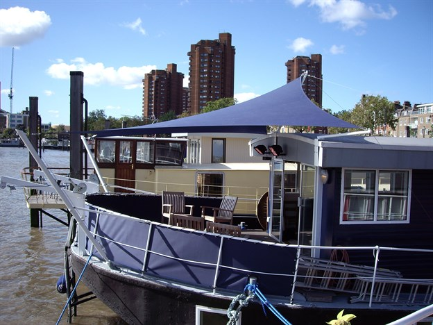 House Boat Canopy