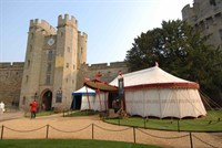 Entrance Canopy and Shop, Warwick Castle