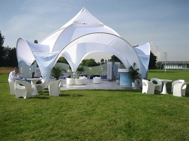 Fabric Canopy Structures At Baseball : Event dome summer touring canopy nivea