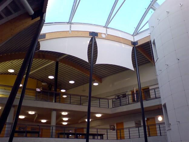 Interior Sun Shading, Leigh Technology College