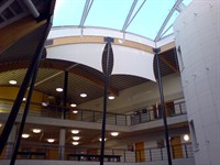Interior Sun Shading, Leigh Technology College