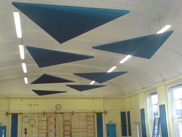 School Hall Acoustics, Whitehill Primary School