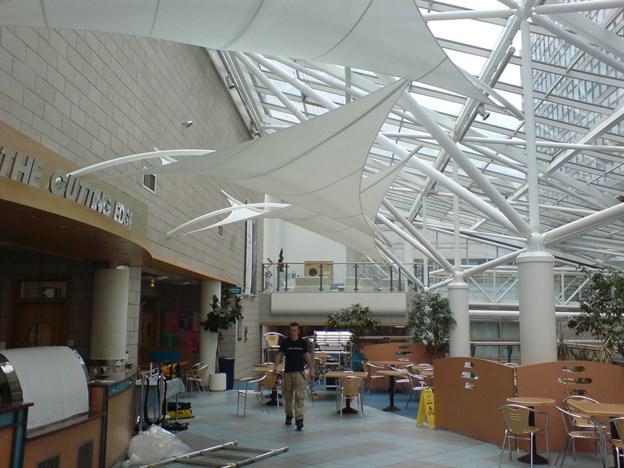 Interior sun screens atrium shading sheffield hallam - Sheffield school of interior design ...