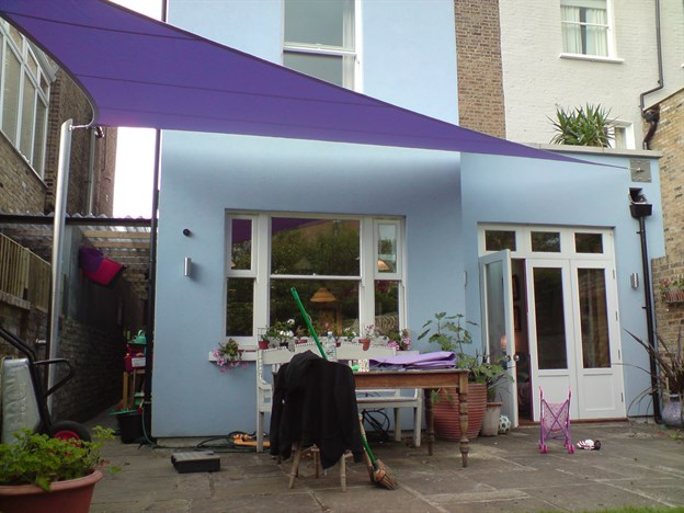Sunshading Private Garden Canopy & Sunshading Private Garden Canopy | West London Garden Canopy