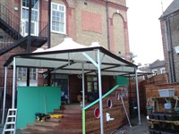 Playground Canopy, Gillespie School