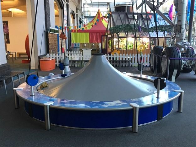 Science Exhibit, Parachute Catcher