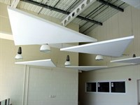 Acoustic Canopies, Safety Central, Leeds