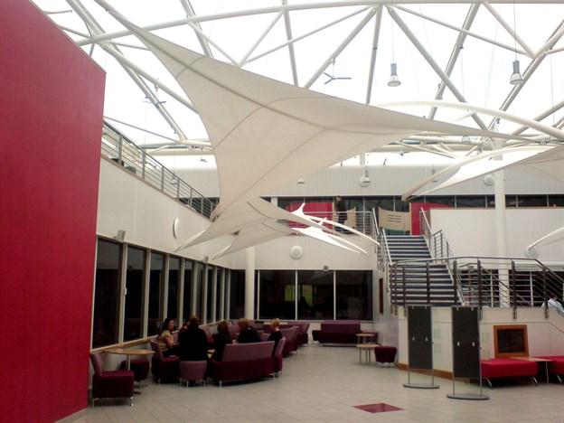 Sunshading Atrium Canopies Sunny Atrium Britannia Leek