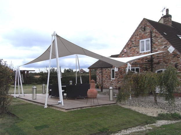 Private Garden Canopy & Exterior Garden Fabric Structures