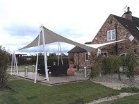 Private Garden Canopy