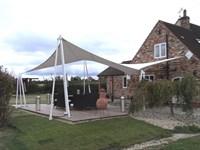 Private Garden Canopy