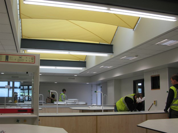 Interior Sun Shading, St Bernadette's School