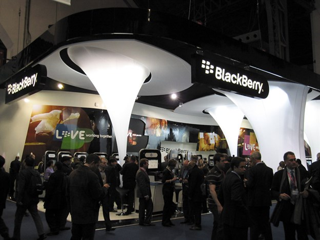 Exhibition Features, Blackberry, MWC