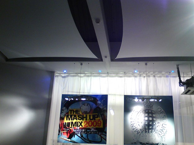 Acoustic Canopies, Ministry of Sound HQ, London