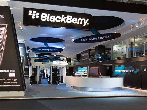 Exhibition Fabric Ceiling, Blackberry MWC