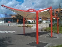 School Canopy, Berger School, London