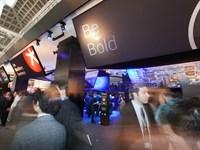 Fabric Ceiling, Blackberry, Mobile World Congress
