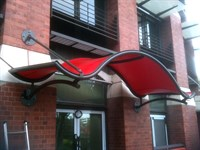 Entrance Canopy, Browne Jacobson, Nottingham