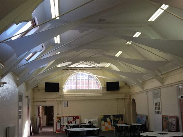 School Hall Acoustics, Uxbridge College