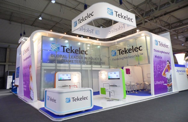 Overhead Sign, Tekelec, Mobile World Congress