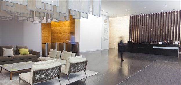 Office Reception Feature, Mid City Place