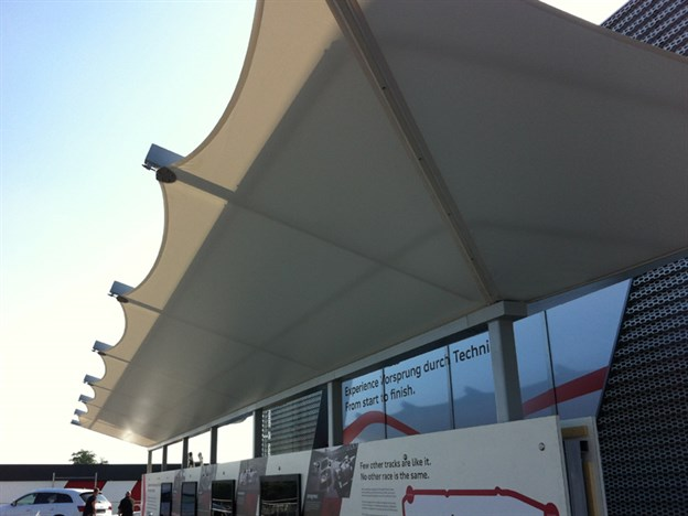 Walkway Canopy for Audi, Goodwood FOS 2013