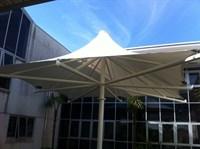 School Courtyard Canopy, Truro College
