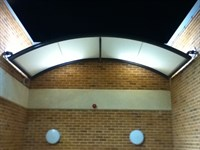 Entrance and Terrace Canopies, St Ann's Hospital