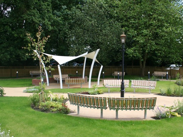 Sun Shade Canopies, Hillingdon Hospital