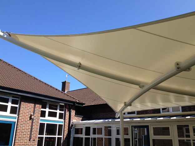 Courtyard Canopy, Oasis Academy, Connaught
