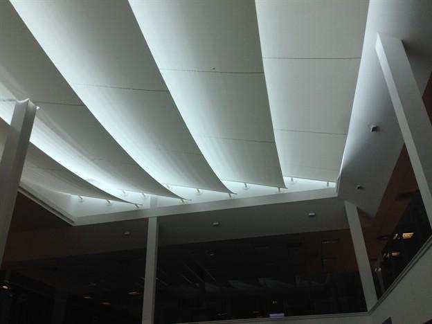 Atrium Sun Shading, Target Group, Newport