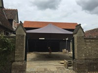 Courtyard Cover, Little Shelford
