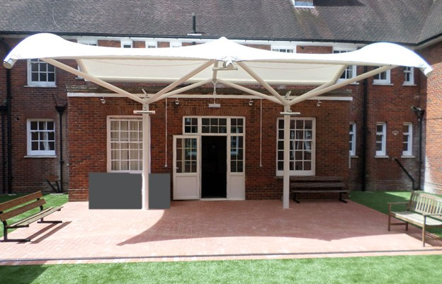 Courtyard Canopy, Keogh Barracks