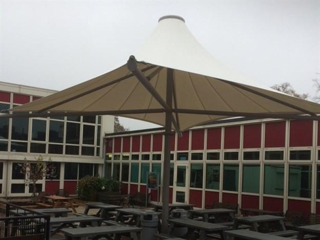 Dining Canopy, Ecclesbourne School