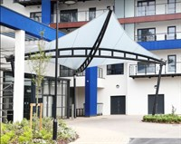 Entrance Canopy, Earlsdon Retirement Village