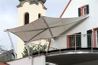 Balcony Entrance Canopy
