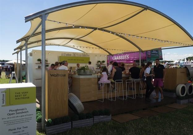 Festival Touring Structure, Waitrose