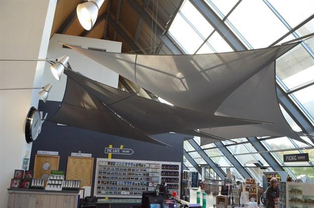 Atrium Sails, Falkirk Wheel Visitor Centre