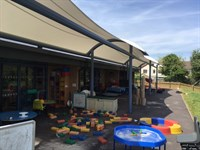 Walkway Canopy, Westbury Infants School
